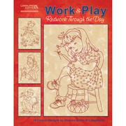 "Leisure Arts LA-5274 ""Work & Play: Redwork Through The Day"""