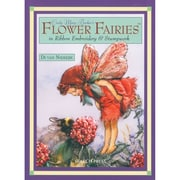 "Search Press Books SP-84300 ""Flower Fairies In Ribbon Embroidery"""