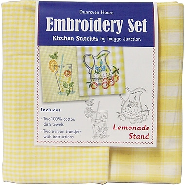 Dunroven House 200-112 Yellow/White Check 28