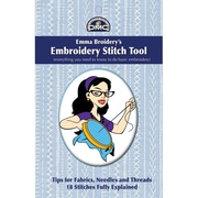 DMC Emma Broidery's DM-BSG01 Embroidery Stitch Tool Book