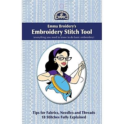 DMC Emma Broidery's DM-BSG01 Embroidery Stitch Tool Book