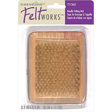 Dimensions Feltworks 72-73662 Wood Felting Mat