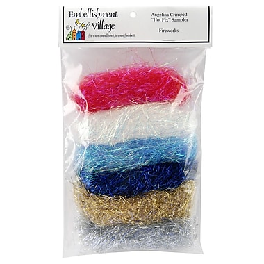 Embellishment Village AGFIRE Angelina Crimped Cut Fibers, Fire Blend