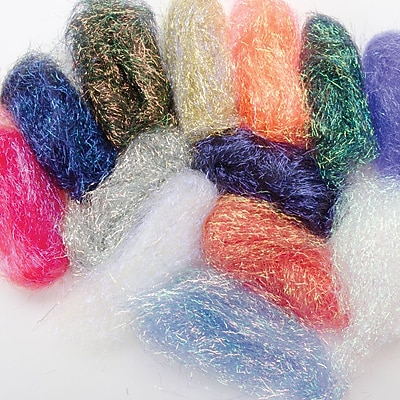 Embellishment Village ACJELLY Angelina Crimped Cut Fibers, Jelly Beans