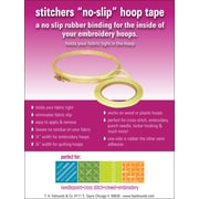 "Edmunds Sticher's EHT-1 3"" x 0.25"" Rubber No-Slip Hoop Tape"