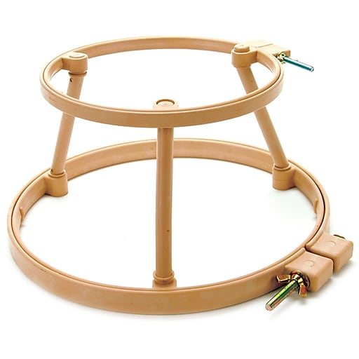 """Morgan Products 313 7"""" and 9"""" Plastic Lap Stand Combo Hoops"""