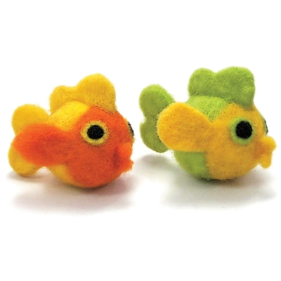 Dimensions 72-73902 Multicolor Feltworks Ball Learn Needle Felting Kit, Fish