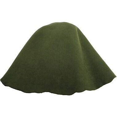 Lacis LK01-OLV Olive Wool Millinery Base Hoods