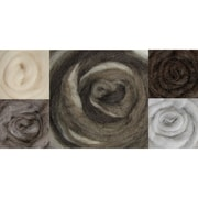 Wistyria Editions Wool Roving, 8/Pack