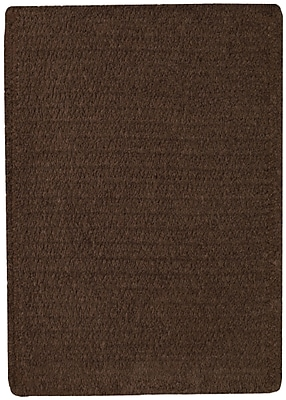 Capel Custom Classics Chocolate Solid Rug; 8' x 11'