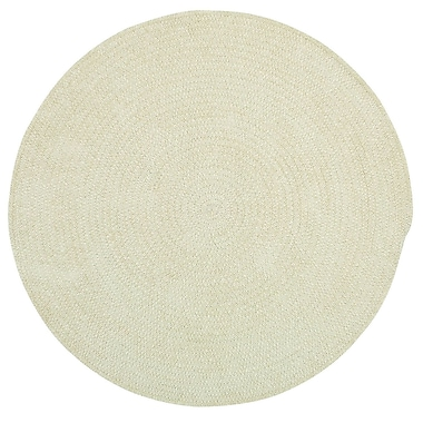 Capel Custom Classics Coffee Solid Rug; Round 5'6''