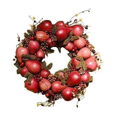 Fantastic Craft Pear Wreath