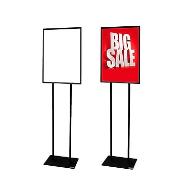 Futech BH-22F Floor Sign Holder, 54
