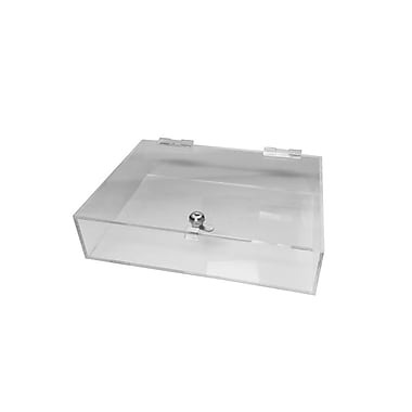 Futech JBOX30 Locking Counter Acrylic Tray, 4