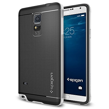 Spigen Neo Hybrid Case for Samsung Galaxy Note 4, Satin Silver