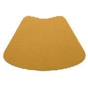 Kraftware Fishnet Wedge Placemat (Set of 12); Golden