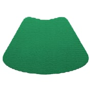 Kraftware Fishnet Wedge Placemat (Set of 12); Emerald