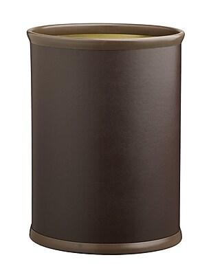 Kraftware Comtempo 3.25 Gallon Waste Basket; Brown