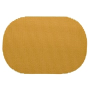 Kraftware Fishnet Reversible Oval Placemat; Golden