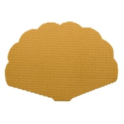 Kraftware Fishnet Reversible Shell Placemat; Golden
