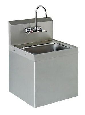 Advance Tabco 15.25'' x 17.25'' Hand Sink; 34'' H x 15.25'' W x 17.25'' D