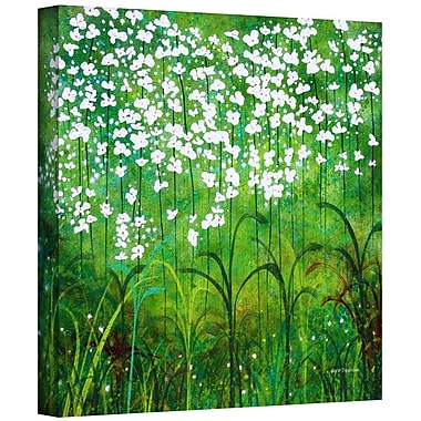 ArtWall 'Spring Garden' by Herb Dickinson Graphic Art on Wrapped Canvas; 36'' H x 36'' W