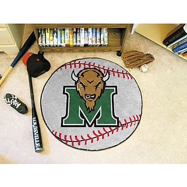 FANMATS NCAA Marshall University Baseball Mat