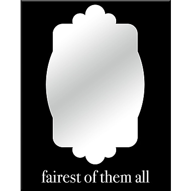 PTM Images Fairest of Them All Wall Mirror