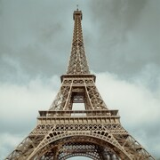 PTM Images Eiffel Tower Photographic Print