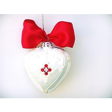 Eva Design Heart Ornament