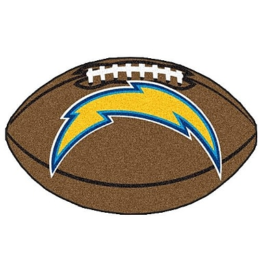 FANMATS NFL - San Diego Chargers Football Mat