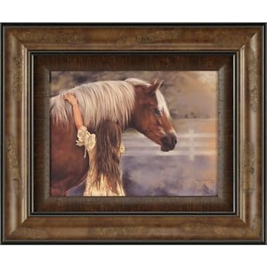 Ashton Wall D cor LLC Ashton Art & D cor First Love Framed Painting Print