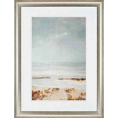 Paragon Tideline by Gold Framed Painting Print