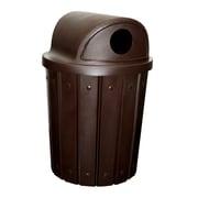 Kolorcans Signature Receptacle 42 Gallon Trash Can; Black