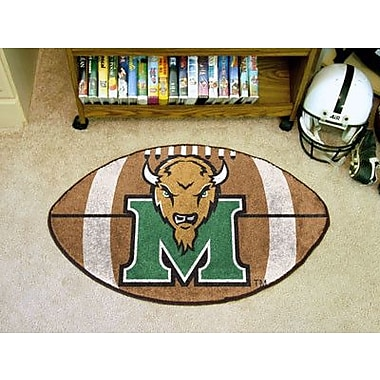 FANMATS NCAA Marshall University Football Doormat