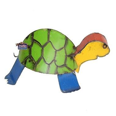 Rustic Arrow Small Turtle w/ Hump Statue