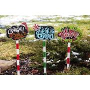 Evergreen Flag & Garden Garden Stake Merry Christmas Decoration