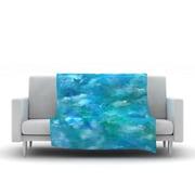 KESS InHouse Ocean Waters by Rosie Fleece Throw Blanket; 40'' H x 30'' W x 1'' D
