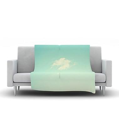 KESS InHouse Cloud 9 by Libertad Leal Fleece Throw Blanket; 60'' H x 50'' W x 1'' D