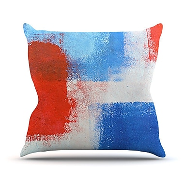 KESS InHouse The Colors by CarolLynn Tice Throw Pillow; 26'' H x 26'' W x 1'' D