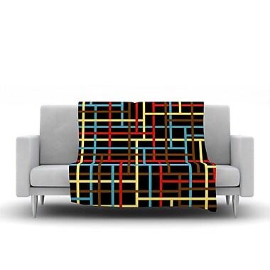 KESS InHouse Veza by Trebam Fleece Throw Blanket; 40'' H x 30'' W x 1'' D