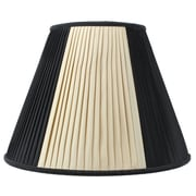 Home Concept Classics Brass 16'' Linen Empire Lamp Shade
