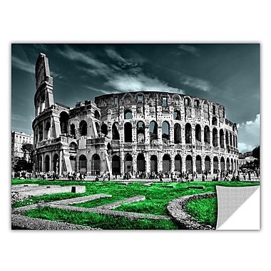 ArtWall ArtApeelz 'Rome' by Revolver Ocelot Photographic Print Removable Wall Decal