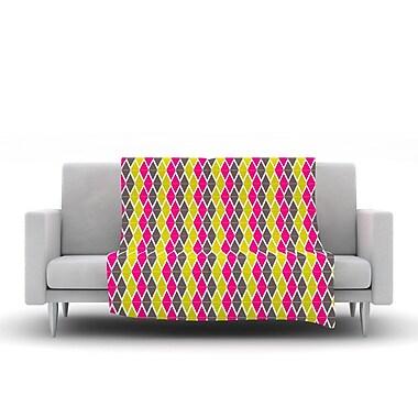 KESS InHouse Bohemian by Nandita Singh Fleece Throw Blanket; 40'' H x 30'' W x .25'' D