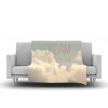 KESS InHouse Dream of Me by Rachel Burbee Fleece Throw Blanket; 80'' H x 60'' W x 1'' D