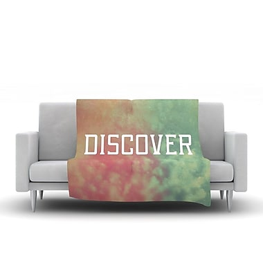 KESS InHouse Discover by Rachel Burbee Fleece Throw Blanket; 40'' H x 30'' W x 1'' D