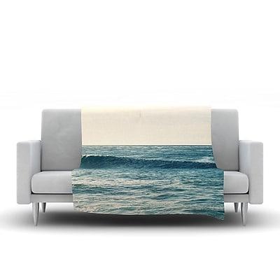 KESS InHouse Balance by Myan Soffia Fleece Throw Blanket; 60'' H x 50'' W x 1'' D