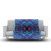 KESS InHouse Boysenberry by Nikposium Fleece Throw Blanket; 60'' H x 50'' W x 1'' D