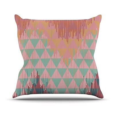 KESS InHouse Ikat Geometrie II by Nika Martinez Throw Pillow; 16'' H x 16'' W x 3'' D