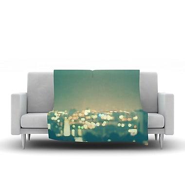 KESS InHouse Anniversary by Myan Soffia Fleece Throw Blanket; 80'' H x 60'' W x 1'' D